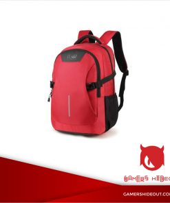 BOOMWAVE COLOUR LAPTOP BAGPACK 14'' RED