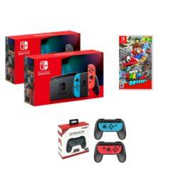 Nintendo Switch Consoles V2 + Super Mario Odyssey