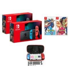 Nintendo Switch Consoles V2 + Pokemon Sword/Shield