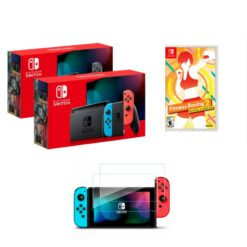 Nintendo Switch Consoles V2 + Fitness Boxing 2