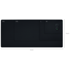 Razer Gigantus V2 Cloth Gaming Mouse Mat - Black